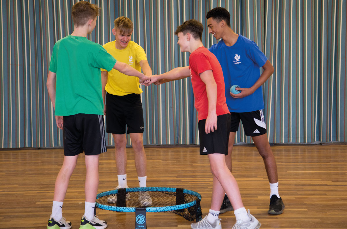 Playing Roundnet in Schools | Zero Bound
