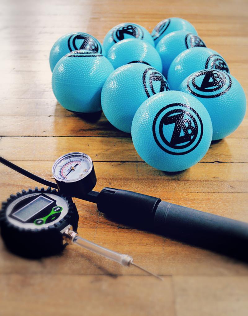 Zero Bounds Roundnet Sets - blue elite balls