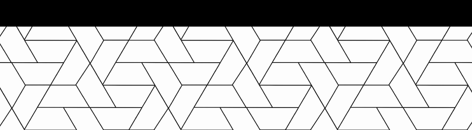 Zero Bounds geometric pattern